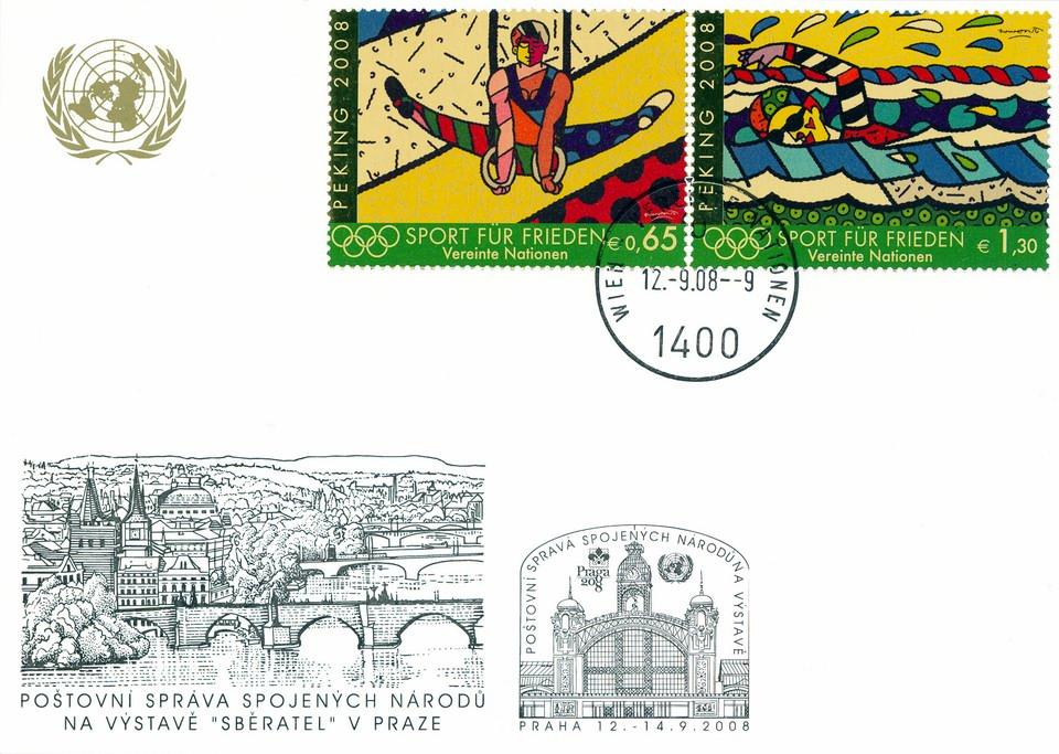 840bdfaa433 Neděle 14. září byla na veletrhu Sběratel a výstavě Praga vyhlášena Dnem  OSN