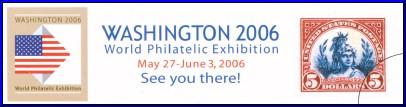 Přejeme hodně úspěchů světové filatelistické výstavě Washington 2006