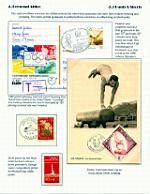 一框邮集《男子体操》 - 谷雨 - 一壶清茶 三五知己
